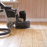 Polishing flooring
